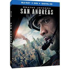 San Andreas (Blu-ray + DVD + Digital HD With UltraViolet)