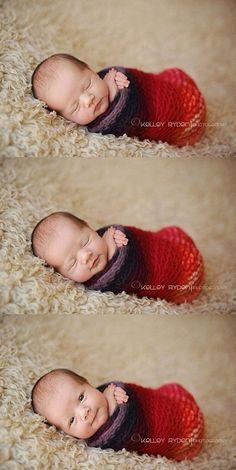 Heel leuk idee voor een newbornshoot!