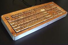 Scrabble tile keyboard