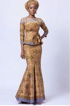 Stylish ideas for african fashion styles 356 African Dresses For Women, African Print Dresses, African Attire, African Wear, African Women, African Prints, African Style, African Inspired Fashion, African Print Fashion