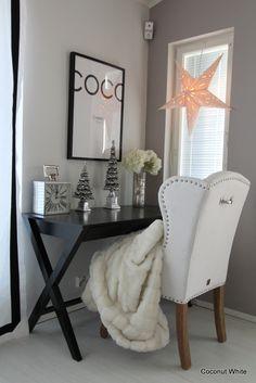 Coconut White: Joulutähdet ikkunaan