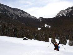 Snow mountain tracking