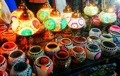 Moroccan pendant lantern, Turkish, Arabic, Morocco, decor, Chandelier, Stained glass, Marrakesh lantern
