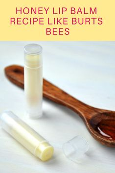 Use coconut oil, sunflower oil, beeswax and of course honey. I recommend using a liquid organic honey as it will be easier to mix with the oils and beeswax than creamed honey. To plump your lips add a few drops of good quality peppermint essential oil. Burts Bees, Lip Scrub Homemade, Homemade Skin Care, Lip Scrubs, Salt Scrubs, Body Scrubs, Sugar Scrubs, Beeswax Lip Balm, Lip Balm Recipes
