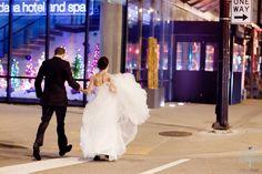 Cassie + Dave: A New Year's Day Wedding in Chicago