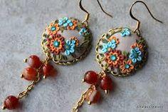 Bildergebnis für polymer clay earrings
