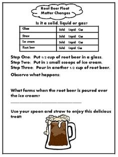 Matter Root Beer Float