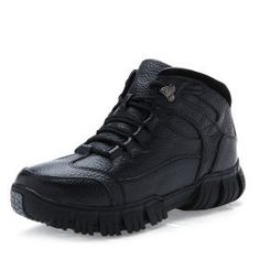 Men's Shoes, Shoe Boots, Mens Snow Boots, Leather Men, Hiking Boots, Warm, Autumn, Free Shipping, Purses