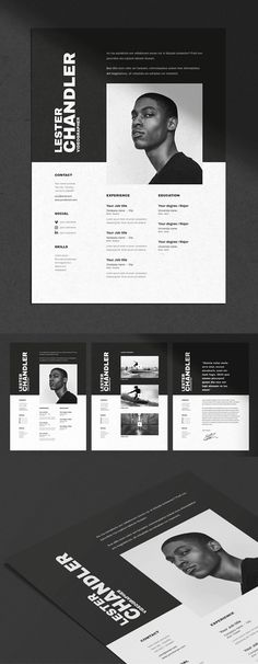 30 Creative Clean CV / Resume Templates with Cover Letters Professional well structured CV / Resume Templates for lasting impression. In current employment market, only eye-catching clean and creative Resumes can stay Website Layout, Cv Website, Website Design, Graphic Resume, Graphic Design Resume, Resume Design Template, Creative Resume Templates, Writing Template, Cv Original Design
