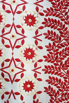 Red and White ~ Tokyo International Quilt Show 2013
