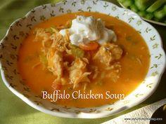 Sound interesting .  Buffalo Chicken Soup