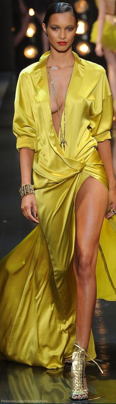 We like the long necklaces for 2014 Alexandre Vauthier Haute Couture | S/S 2014