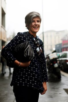 On the Street……Dots or Spots, Milano « The Sartorialist