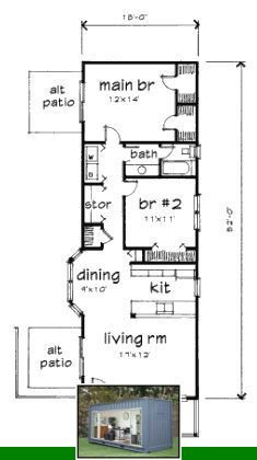 Container house grand designs and u shaped container house plans. Small House Floor Plans, Cottage Floor Plans, Cabin Floor Plans, Bungalow House Plans, Cottage Plan, Modern House Plans, Cottage House, The Plan, How To Plan