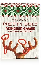 *Werbung* Two's Company Inflatable Reindeer Toy Toss