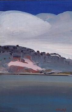 Arthur Boyd, Shoalhaven Landscape with Clouds Australian Painters, Australian Artists, Landscape Paintings, Landscapes, Arthur Boyd, Paintings Famous, Impressionist, Abstract Art, Art Gallery