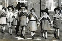 Happy St David's Day on March in Wales—time to don a traditional Welsh top hat kick up your heels : ) Welsh Lady, Saint David's Day, England, Cymru, Swansea, My Heritage, Cardiff, South Wales, Vintage Children