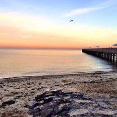 Beaches In Bayside Melbournelifelovetravel Beach Pier Sunrise Capture Calmingmelbournesunrisesaround The