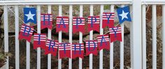 Happy Birthday July 4th Banner by IttyBittyBoutik on Etsy