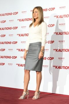 Jennifer Aniston on the red carpet in Berlin
