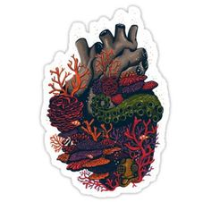 heart of the sea Stickers