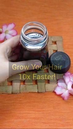 Homemade Hair Treatments, Diy Hair Treatment, Hair Remedies For Growth, Skin Care Remedies, Hair Growth, Hair Growing Tips, Grow Hair, Hair Tips Video, Natural Hair Care