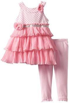 Nannette Baby-Girls Infant 2 Piece Printed Dress And Knit Pant, Pink, 18 Months Nannette,http://www.amazon.com/dp/B00AMB05UC/ref=cm_sw_r_pi_dp_yPZBsb0Y1NWXKMS2