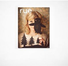 Rue Magazine Cover with Shadow Puppets Alison Sudol, Magazine Design, Almost Lover, Fine Frenzy, Shadow Puppets, Design Graphique, Look At You, Zentangles, Fashion Stylist
