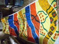 5+ YARDS MARIMEKKO LOVELOVELOVE FABRIC VINTAGE 70'S UNUSED  #Marimekko