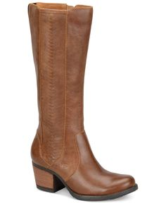 Just got these to wear with my Gilli navy wrap dress. They are so comfy! Born May Tall Boots