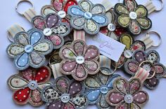 I've been busy this week making key rings decorated with freehand machine embroidery. They will be going to the shops I stock. Freehand Machine Embroidery, Free Motion Embroidery, Free Machine Embroidery, Embroidery Applique, Scrap Fabric Projects, Fabric Scraps, Sewing Projects, Key Rings To Make, Sewing Hacks