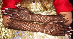 stylish-bridal-gujarati-mehndi-designs-for-full-hands