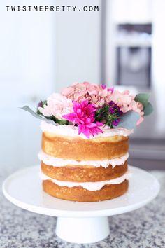EASY Naked Cake Tutorial for Beginners