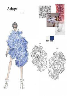 Fashion Portfolio Layout, Fashion Design Sketchbook, Fashion Design Drawings, Fashion Sketches, Portfolio Design, Portfolio Ideas, Art Sketchbook, Fashion Collage, Fashion Art