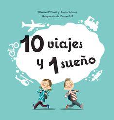 """Meritxell Martí / Xavier Salomó. """"10 viajes y un sueño"""". Editorial Combel. (3 a 6 años). Carmen Gil, Libros Pop-up, Marti, Editorial, Pop Up, Books, Kids, Movie Posters, Google"""