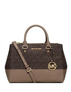 Michael Michael Kors Sutton Medium Signature Satchel