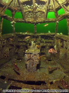 Once a Boeing 737, now an artificial reef