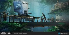 ArtStation - Luke vs Walker, Jon Hrubesch