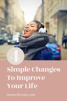 Improve Your Life With These Simple Changes. Changes to make your life better. Self-Improvement #improve #improvement #change #bethechange #selfimprovement #improveyourlife #simplechanges #betterlife Self Development, Personal Development, Live For Yourself, Improve Yourself, Learn From Your Mistakes, Family Issues, Learn A New Skill, Finding Happiness, Parents As Teachers