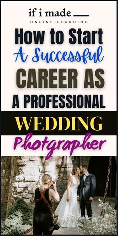 Do You Want a Successful Career as a Wedding Photographer? INTRODUCING Wedding Photography with Erich McVey... Erich McVey teaches everything he knows about photography and building a successful business! Go for more details... Successful Business, How To Become, Career, Wedding Photography, Teaching, Group, Lifestyle, Building, Board