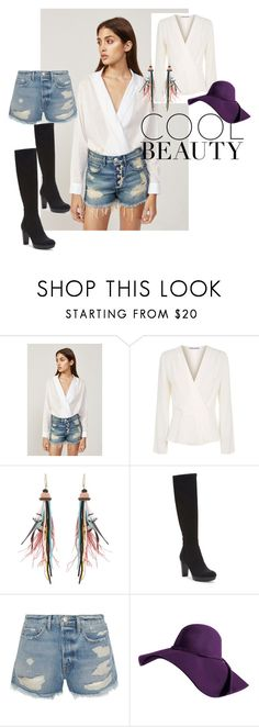 """""""Bez naslova #4"""" by aidaaa1992 ❤ liked on Polyvore featuring 3x1, Elizabeth and James, Etro, Donald J Pliner and Frame"""