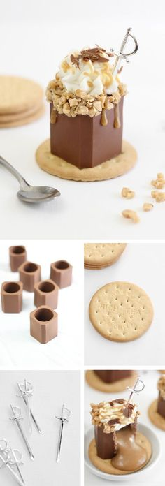 Butter Toffee Candy Bar Shots | 19 Shot Glasses You Can Eat