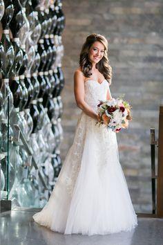 NYC Fall Wedding at 26 Bridge   Sarah Tew Photography   Alexander McQueen    Reverie Wedding Gallery Blog