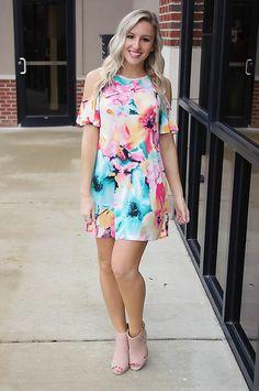 Rainbow Oasis Dress