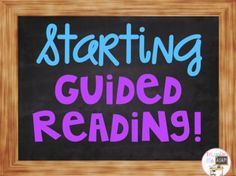 "I recently had a teacher email me, ""How do you implement guided reading at the start of a new school year?"" What a great question!  Starting Guided Reading Groups  Read my top 6 tips for implementing guided reading in your primary classroom at the start of a new school year."