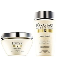 Kerastase Densifique Bain Densite (250Ml) And Masque Densite (200Ml) * Want to know more, click on the image. #hairmake