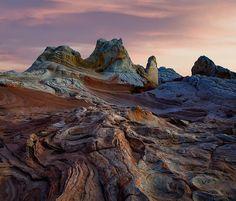 White Pocket, hidden within the desert expanse of the Paria Canyon-Vermillion Cliffs National Monument near the Arizona/Utah border.