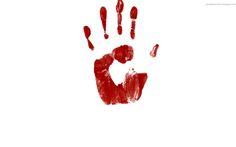 hand, blood