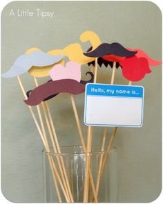 """DIY Photo Booth: This will be a great idea for """"Back to School Night"""". Have parents and students take a silly (or not so silly) photo that can get hung up on the wall for everyone to enjoy throughout the beginning of the year  :)"""