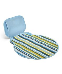 Take a look at this BUILT Powder Blue Stripe Diaper Buddy Changing Pad on zulily today!